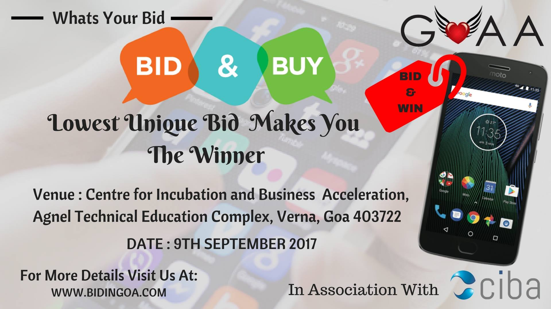 CIBA - BID IN GOA