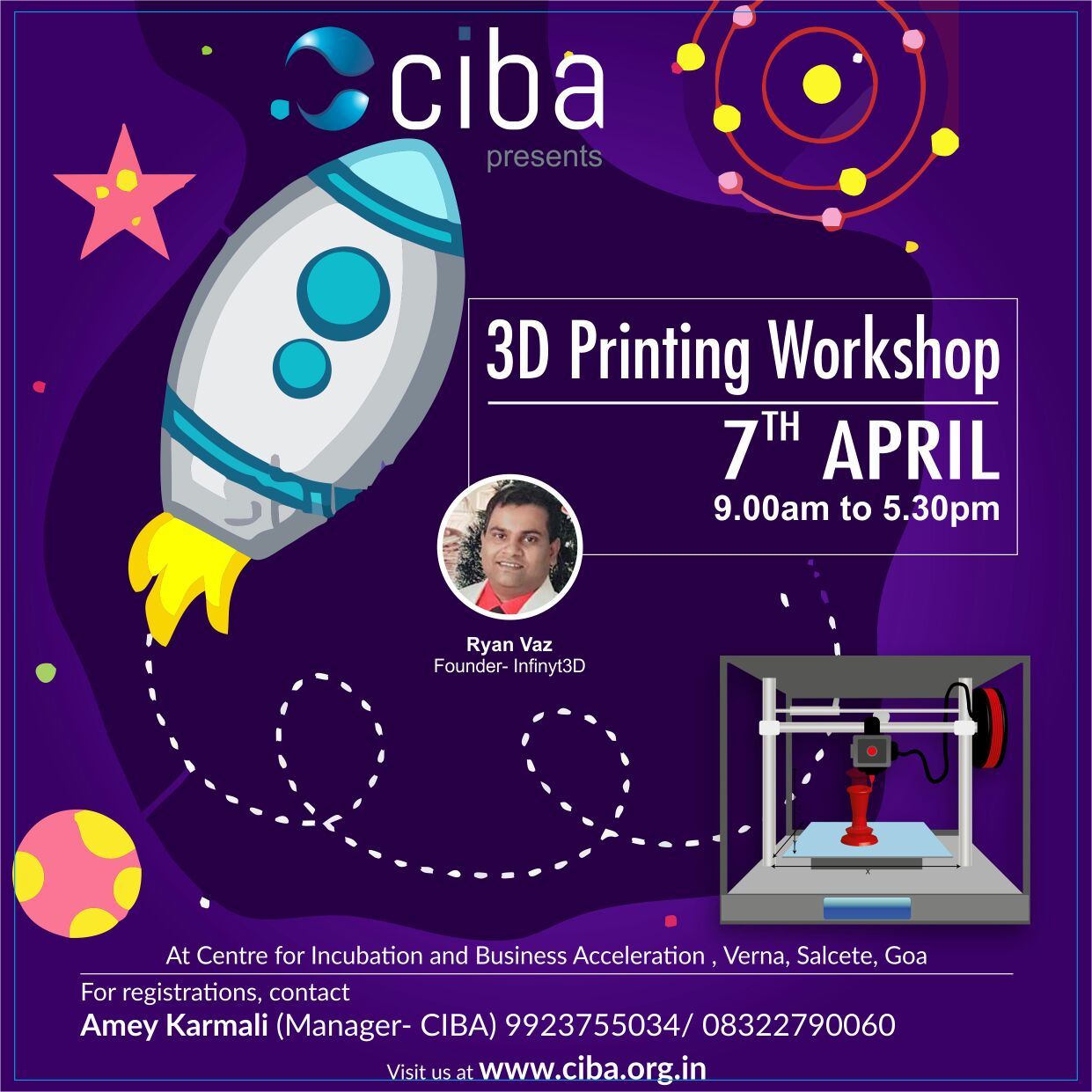 CIBA - 3D Printing Workshop