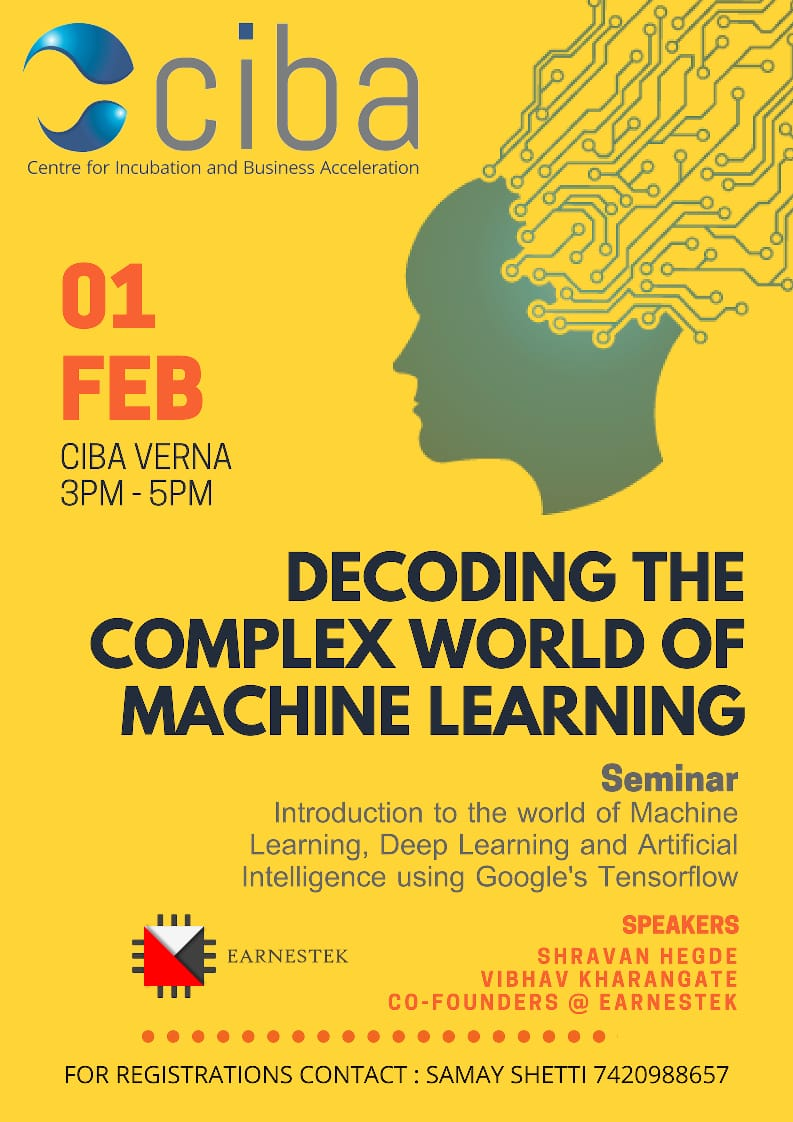 ciba-Decoding The Complex World of Machine Learning